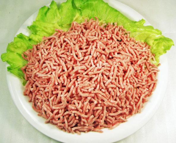 無薬ハーブ豚モモ挽肉(バラ凍結)