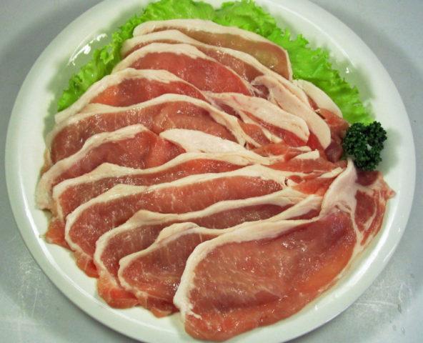 丹沢高原豚ローススライス