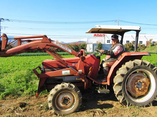大原農園トラクター