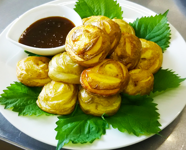 レシピ ばら段爵芋の蜂蜜味