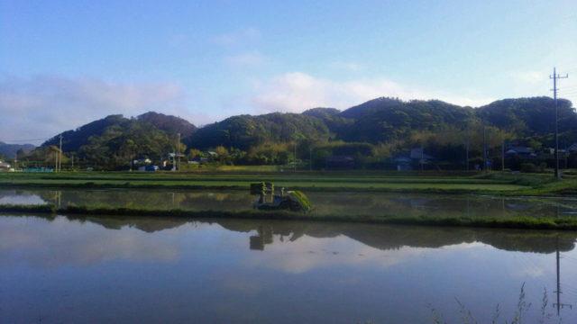 三芳村蛍まい研究会 三芳村風景