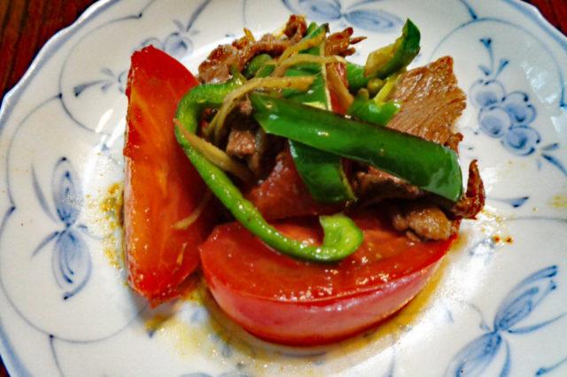 レシピ 牛肉とトマト
